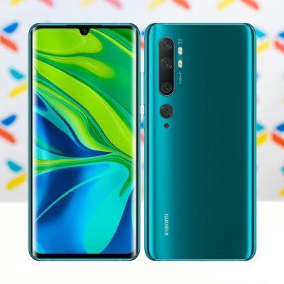 Xiaomi Mi Note 10 Zeleny