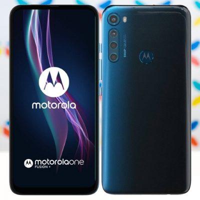Motorola One Fusion+ 6GB/128GB Modra